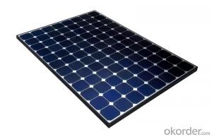 180KW CNBM Monocrystalline Silicon Panel for Home Using