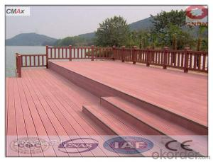 WPC Outside Floor Wood Plastic Composite/Eco-friendly Decorate Decking