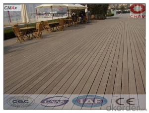 Wood Plastic Composite WPC DIY Decking Tiles