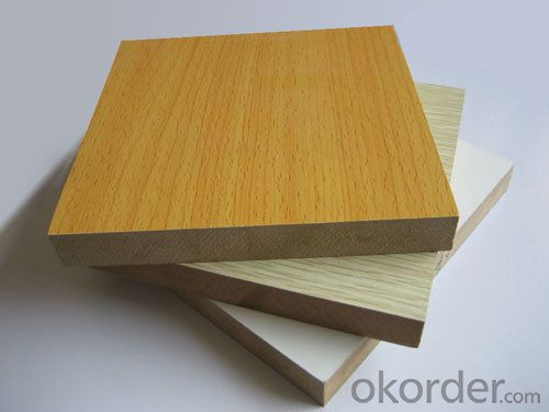 High Glossy Melamine Faced MDF for Kitchen Cabinet