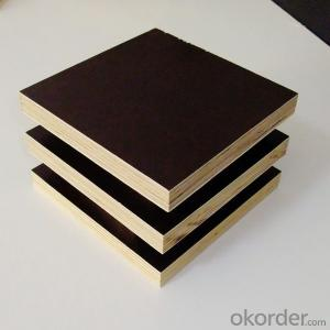 Brown Film Hardwood Core WBP Glue Film Faced Plywood for Construction