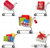 60-275 Liters Zinc Series Shopping Trolley