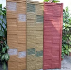 Hot Selling Color Stone Coated Metal Roof Tiles