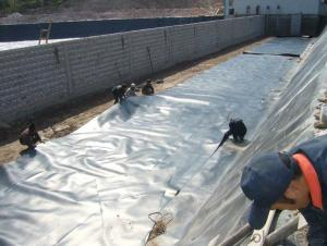Waterproof HDPE Geomembrane for  Landfill to Prevent the Waste Water