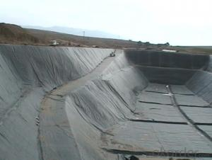 One Side Textured Hdpe Geomembrane for  Landfill to Prevent the Waste Water
