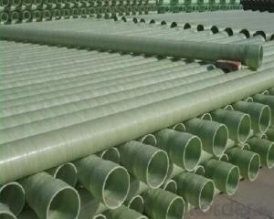 Comoposite FRP Pipe Fiberglass Reinforced Plastic Water Pipe