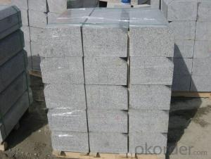 Granite Roadside Stone Sesame Grey from China Factory