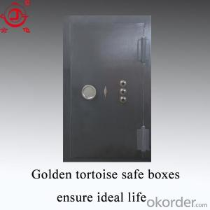 Fire Resistant Modern Used Commercial Steel Doors Bank Vault Doors for Sale Vault Door