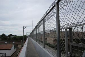 Razor Barbed Wire for Railway, Highway, Buildings