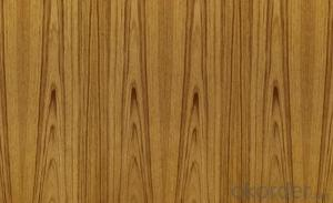 Teak Veneered MDF Panels Wood grain is straight