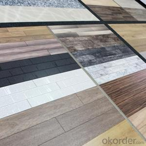 3mm Dark Limed Grey Oak Crystal Texture Vinyl Floor Colorful PVC   high quality
