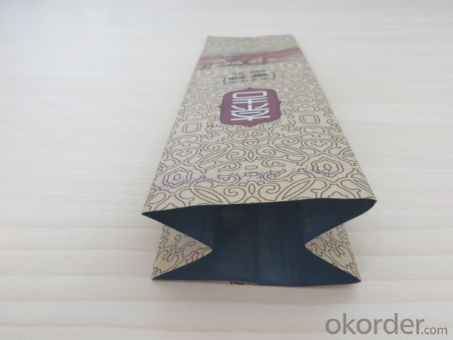 Brown Craft Paper Laminated with Plastic Film Used for Packing