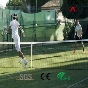 Comfortable Tennis Court Artificial Turf Natural Looking