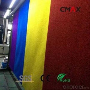 Artificial Grass for Sports Colorful Fire Resistant