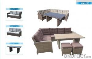 Outdoor Furniture Rattan Sofa CMAX-WM3208