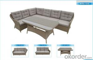Outdoor Furniture Rattan Sofa CMAX-WRA1048