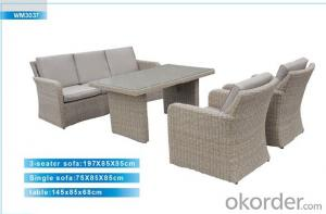Outdoor Furniture Rattan Sofa CMAX-WM3037
