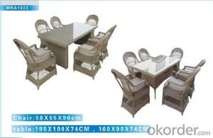Outdoor Furniture Rattan Sofa CMAX-WRA1023