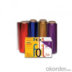 Color Hairdressing Aluminium Foil in Roll Salon Foil