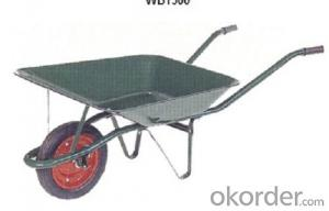 Wheel Barrow with  WB1500 For Construction