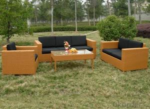 Outdoor PE Wicker/Rattan Sofa CMAX-YHA044
