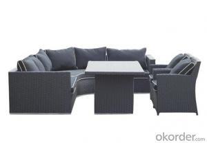 Outdoor PE Wicker/Rattan Sofa CMAX-YHA079
