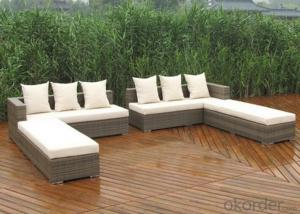 Outdoor PE Wicker/Rattan Sofa CMAX-YHA080