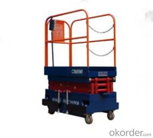 CMAX  Manual scissor lift working platform