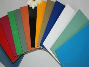 PVDF/PE ACP Alucobond Aluminium Composite Panel For Outdoor Decoration