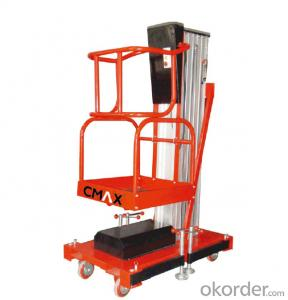 CMAX SINGLE MAST ALUMINIUM AERIAL WORK PLATFORM