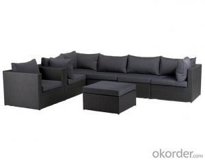 Outdoor PE Wicker/Rattan Sofa CMAX-YHA050