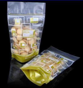 Flexible Printed Hot Sealing Packing Bag With Hang Hole