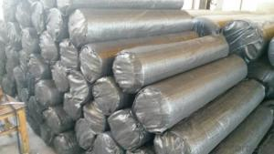 Silt Fence with Pocket/ Polypropylene Woven Fabric