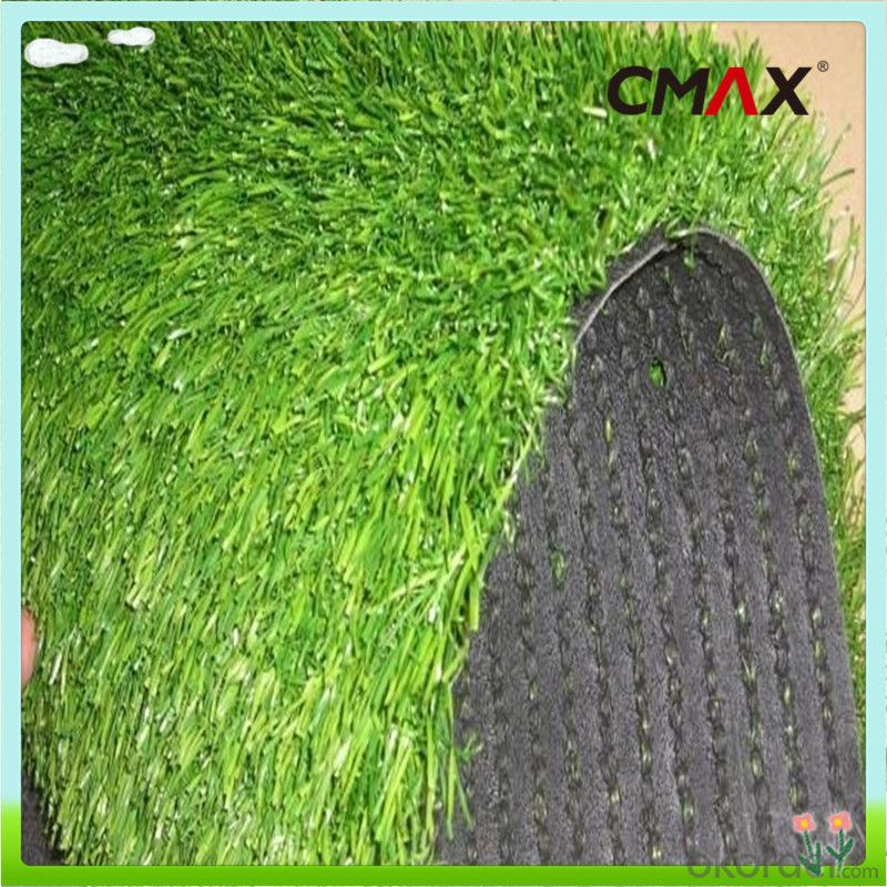Natural Decorative Landscaping Artificial Turf With 4color&3color
