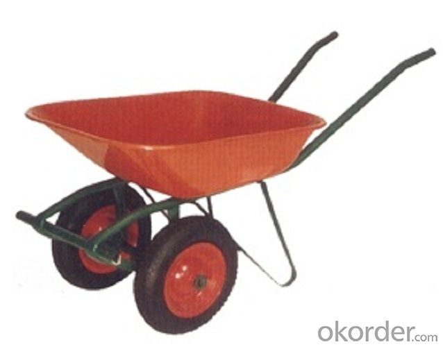 Wheel Barrow with  WB6402 For Construction