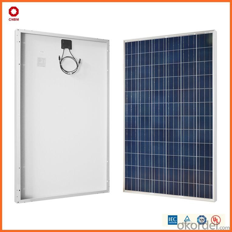 150W Polycrystalline Silicon Solar Module With CE/IEC/TUV/ISO Approval Standard Solar