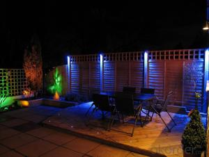 3 Years Warranty Outdoor LED Garden Light