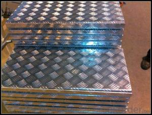 Embossed Panel Aluminum for Making Auto Tool Case
