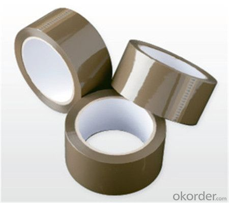 Tan BOPP Packing Tape Water Based Acrylic OPP Adhesive Tape