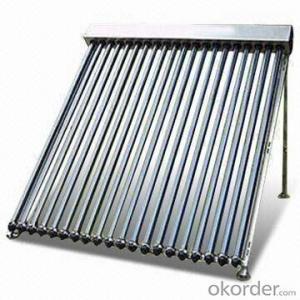 15 Tubes Solar Pipes Solar Collectors EN12975