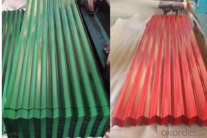 Premium Colorful Corrugated GI  Galvanized Metal  Sheet