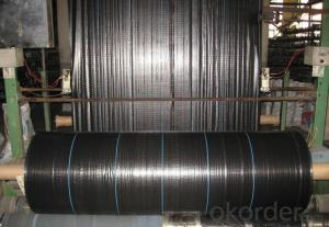 Silt Fence/ Polypropylene Woven Fabric/ Weed Barrier Fabric