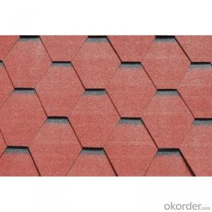 Colorful Glassfiber Roofing Asphalt Shingle