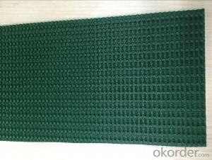 Dark Green PVC Conveyor Belt Light Duty Belting