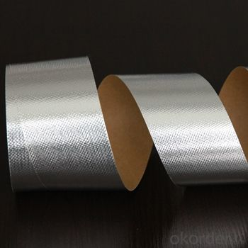 Aluminum Foil Tape Solvent-Based with Liner