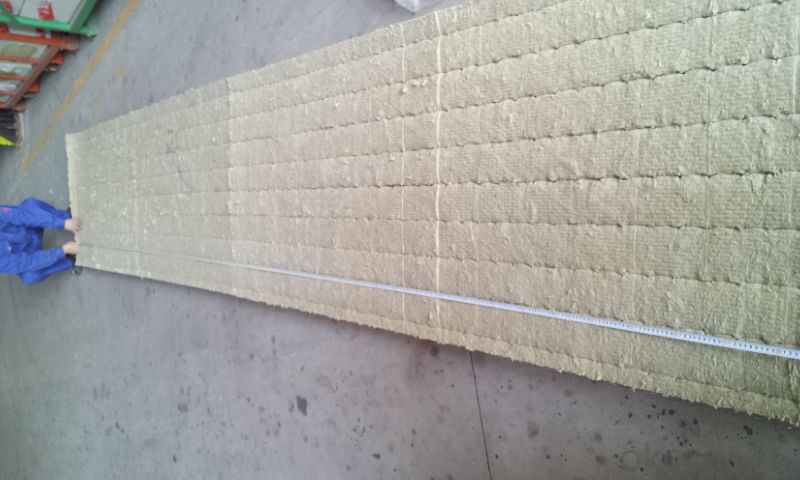 Rock Wool Blanket 100KG50MM For Building Roofing Insulation