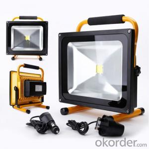 LED Flood Light High Efficacy Outdoor Chargable Removable