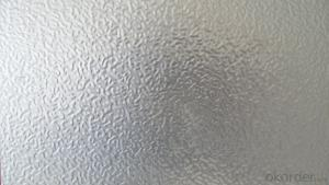 Aluminium Treadplate in Stucco Pattern for Car Body