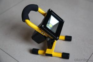 Waterproof Chargable Die Cast Aluminum LED Flood Light