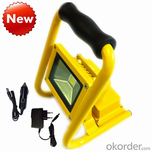 Portable 10W 220V Chargable Working Flood Lamp